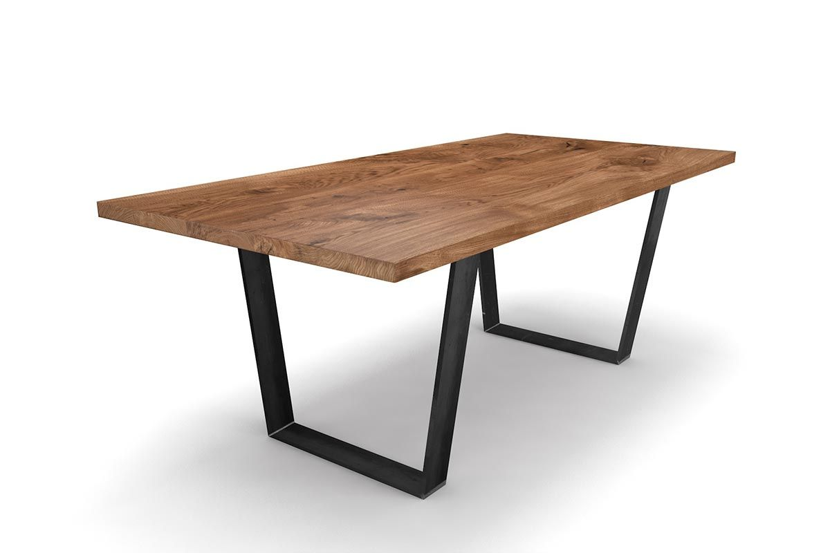 Kufentisch Eiche massiv nach Maß