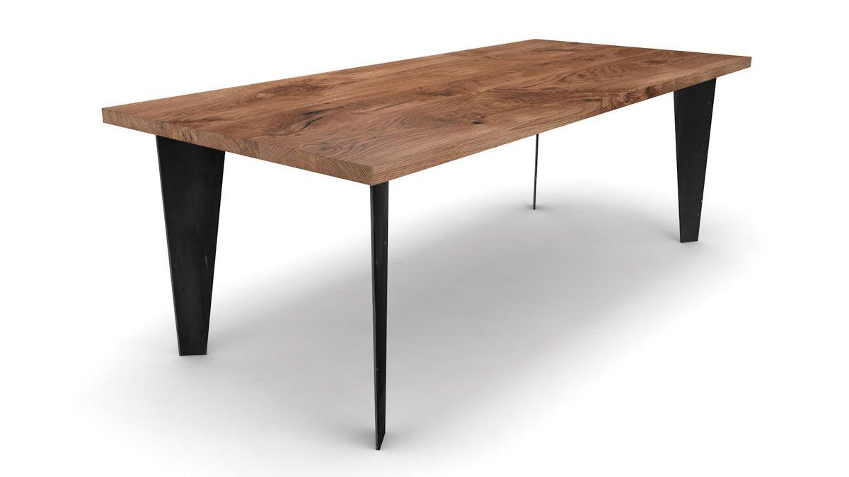 esstisch nach ma aus eiche massiv holzpiloten. Black Bedroom Furniture Sets. Home Design Ideas