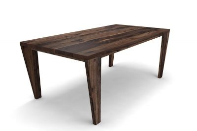 Nussbaum Holztisch massiv auf Maß