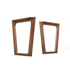 tischgestell holz eiche nach ma holzpiloten. Black Bedroom Furniture Sets. Home Design Ideas