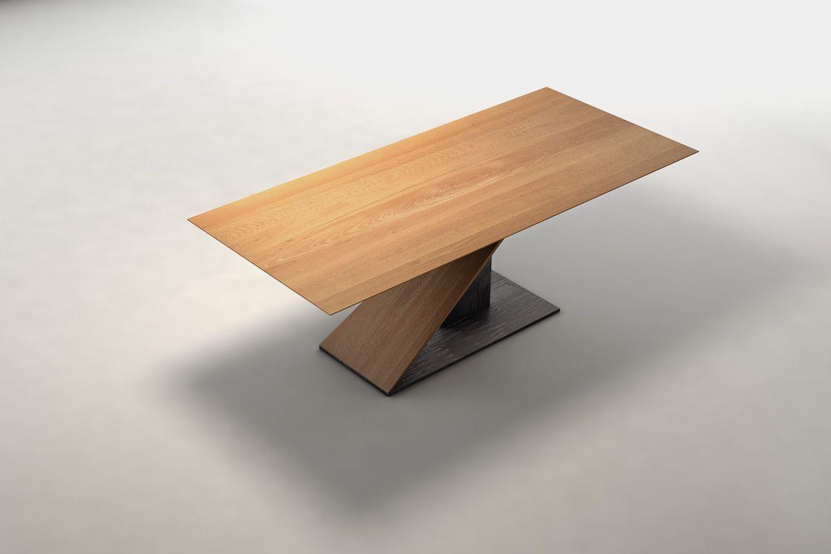 esstisch nach ma aus buche holzpiloten. Black Bedroom Furniture Sets. Home Design Ideas