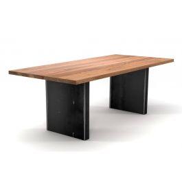 massivholz esstisch eiche auf ma holzpiloten. Black Bedroom Furniture Sets. Home Design Ideas