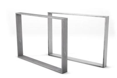 Minimalistische Tischkufen aus Stahl nach deinem Maß gefertigt