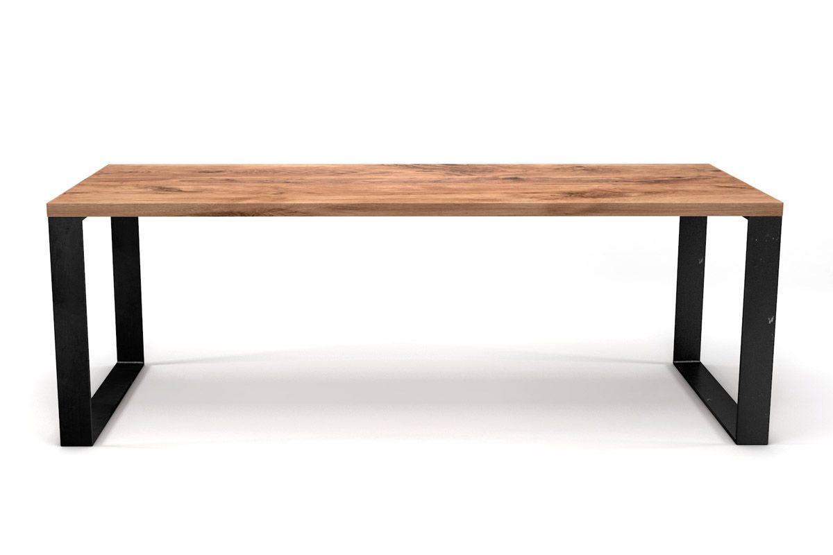 kufenesstisch eiche massiv nach ma holzpiloten. Black Bedroom Furniture Sets. Home Design Ideas