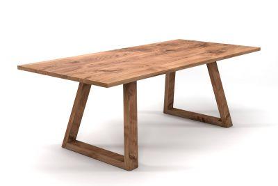 Holztisch massiv Eiche 3cm Ast LH499-T