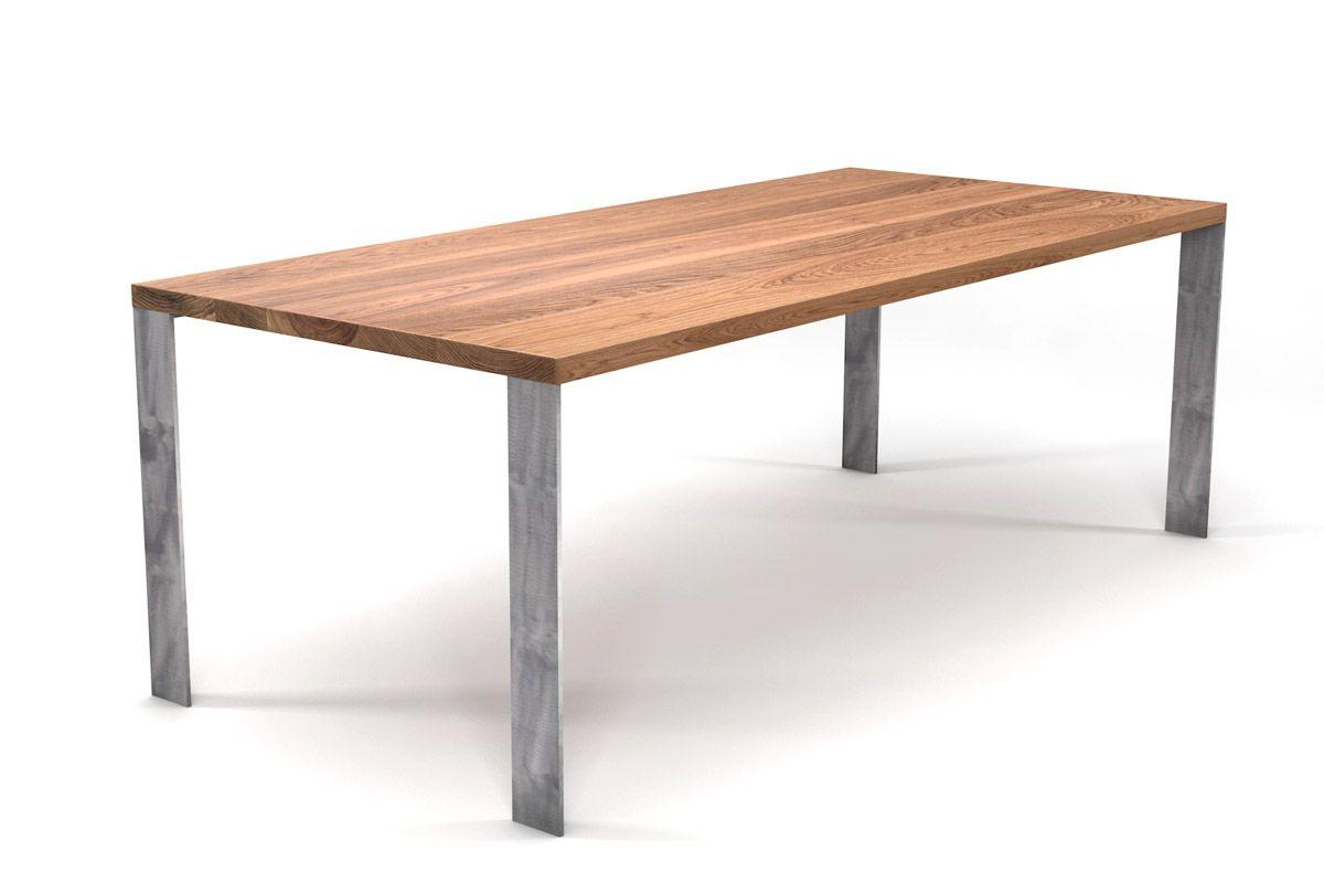 Esstisch Modern Eiche Nach Maß Holzpiloten