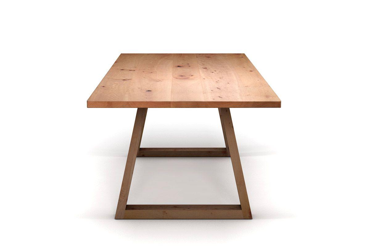 kufen esstisch aus buche holzpiloten. Black Bedroom Furniture Sets. Home Design Ideas