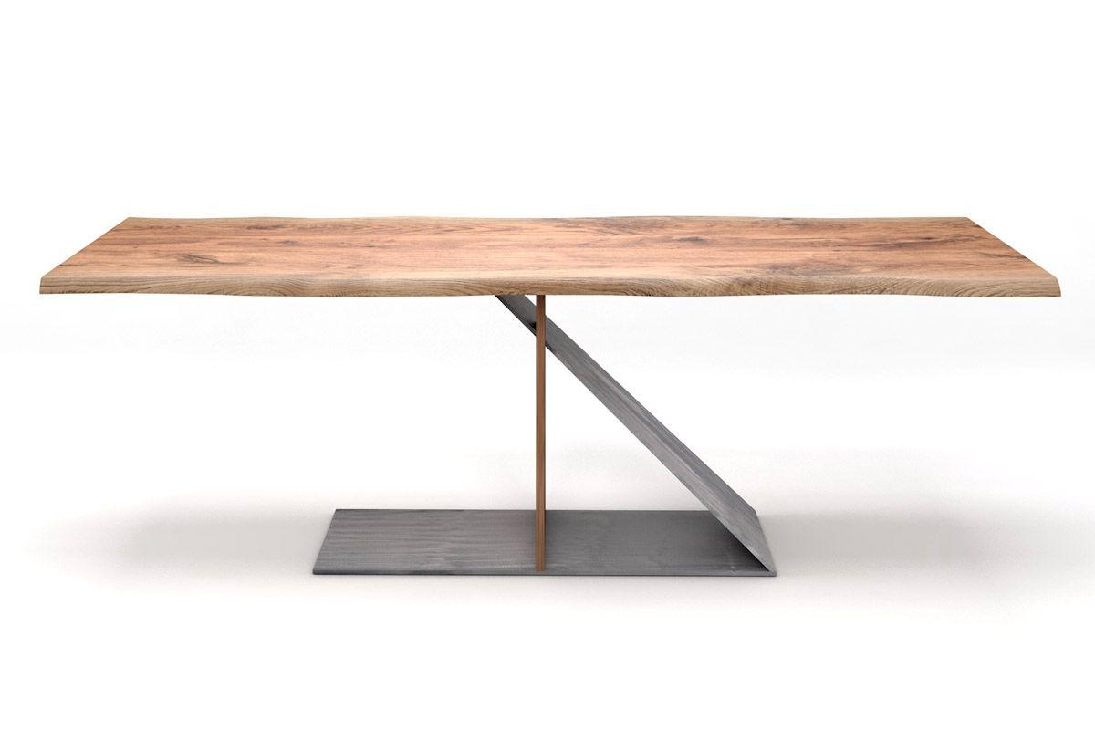Esstisch massivholz eiche modern  Tisch Eiche massiv nach Maß [HOLZPILOTEN]