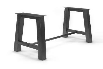 Tischgestell Stahl mit Fußstrebe AFL150