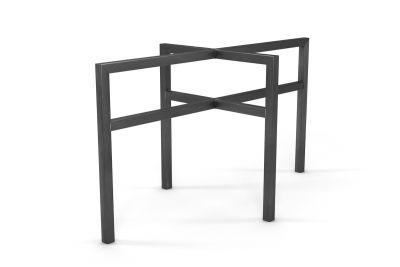 Tischuntergestell Metall auf Maß aus Vierkanterrohr in minimalistischem Design