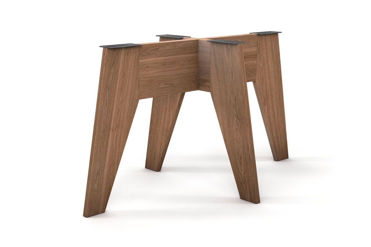 Modernes Holz Tischgestell ganz nach deinem Maß gefertigt