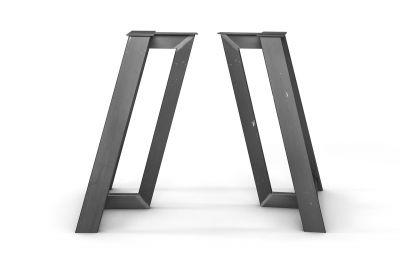 Modernes Stahl Untergestell nach Maß im 2er Set erhältlich