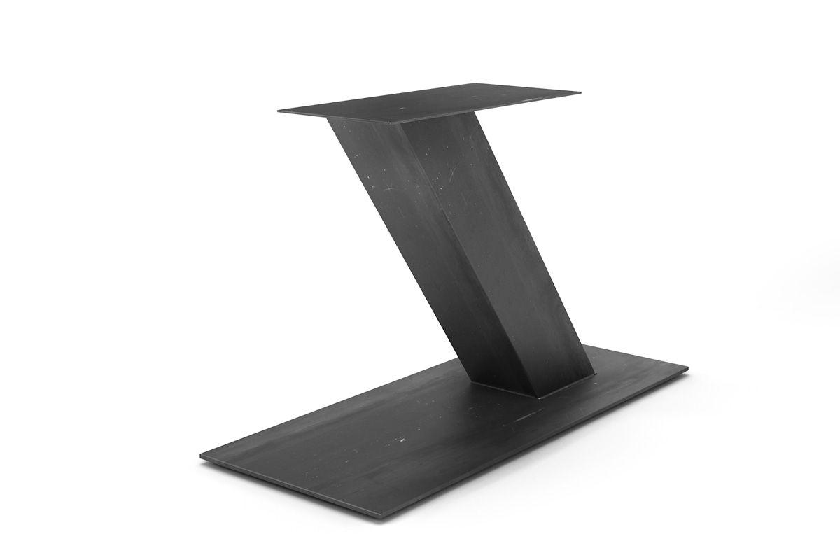 Metall Untergestell Mittelfuß in verschiedenen Oberflächen erhältlich