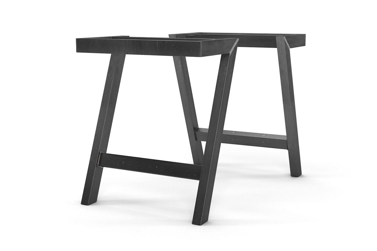 tischbeine metall nach ma schr g holzpiloten. Black Bedroom Furniture Sets. Home Design Ideas