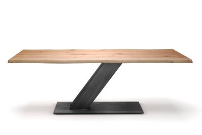 Baumtisch modern Buche 4cm mit Astanteil nach deinem Maß gefertigt