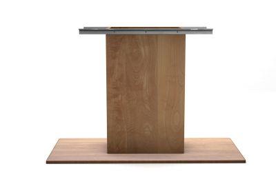 Tisch Mittelgestell Buche nach Maß aus Massivholz gefertigt