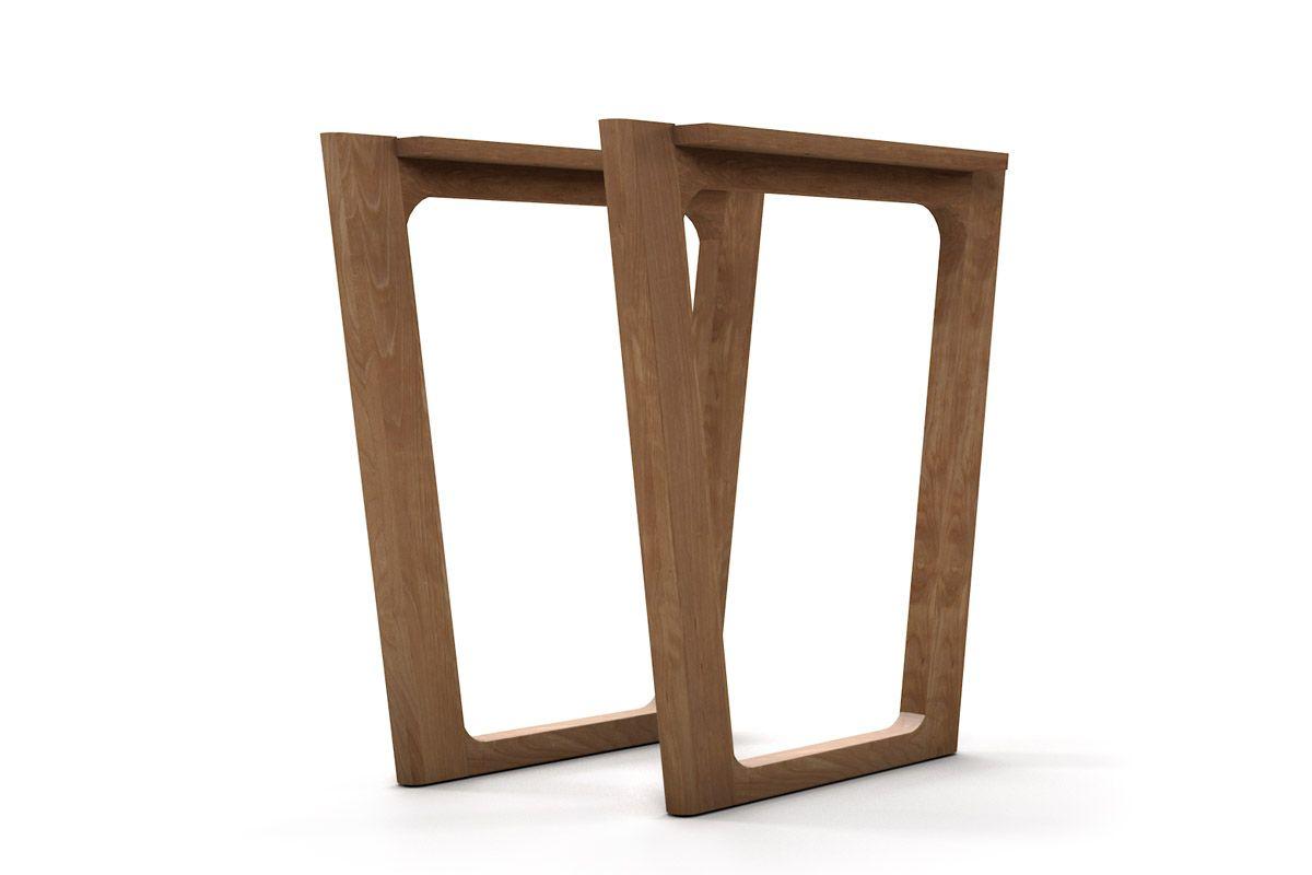 Tischkufen nach deinen Wünschen gefertigt aus Buche Massivholz