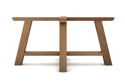 Massivholz Tischgestell auf Maß im trendigen Landhausstil gefertigt