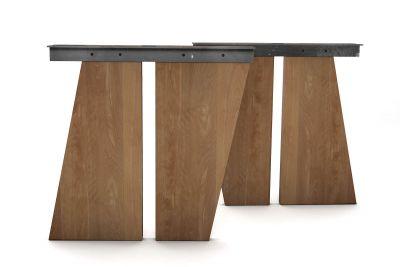 Massivholz Tischwangen Buche schräg nach Maß im 2er Set erhältlich