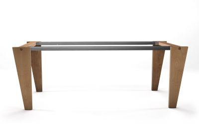 Tischuntergestell Buche massiv nach Maß in selbsttragender Ausführung gefertigt