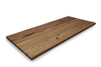 Eiche Altholz Tischplatte massiv auf Maß