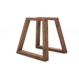 holz tischkufen eiche altholz holzpiloten. Black Bedroom Furniture Sets. Home Design Ideas