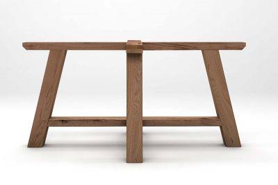 Alte Eiche Holz Tischgestell im Landhausstil gefertigt auf Maß