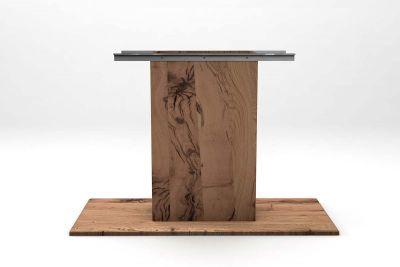 Tischsäule Eiche Altholz nach Maß