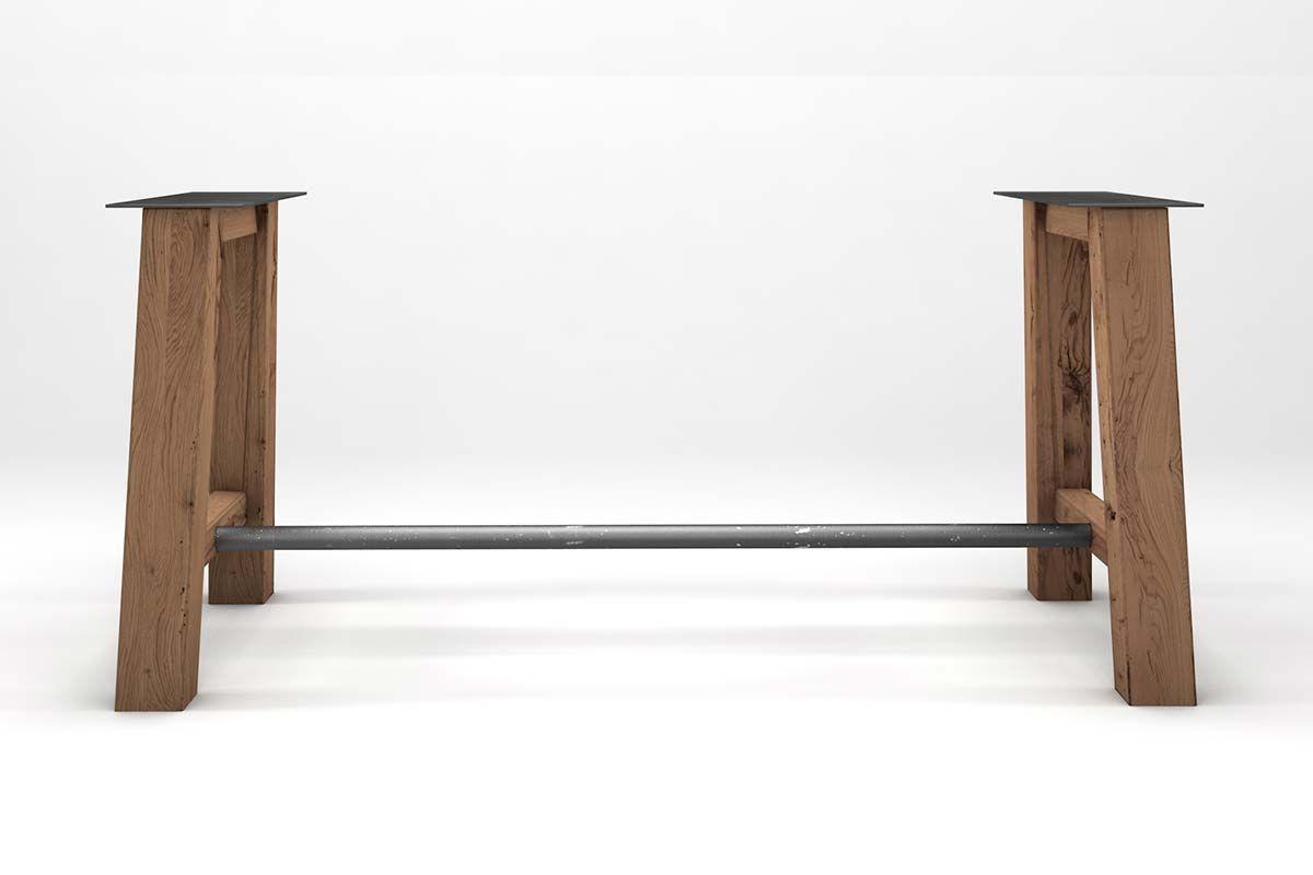 Tischuntergestell aus Holz nach Maß gefertigt