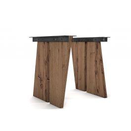 eiche altholz tischwangen schr g nach ma holzpiloten. Black Bedroom Furniture Sets. Home Design Ideas