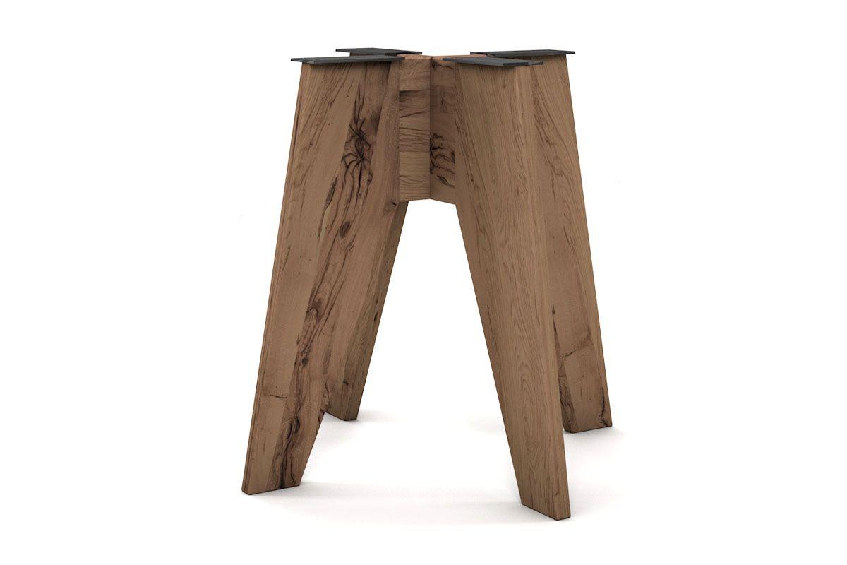 Tisch Untergestell Holz massiv