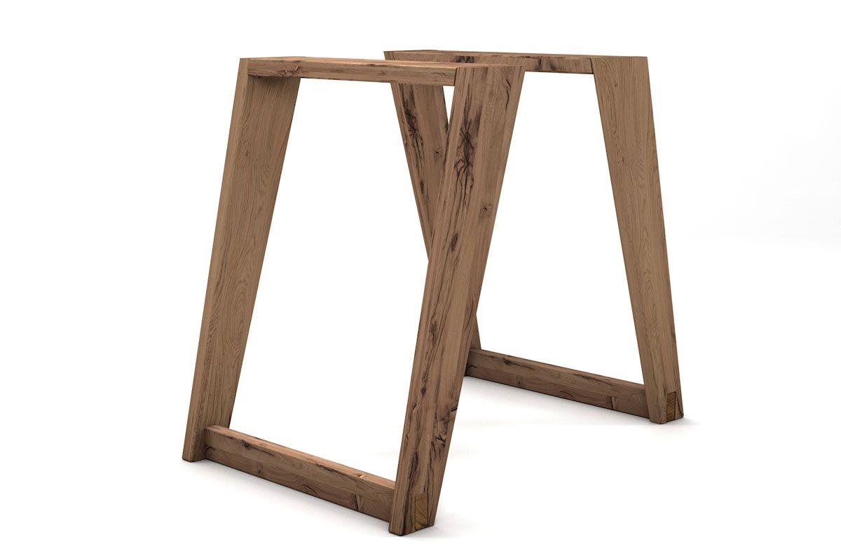 Kufengestell aus Holz gefertigt in verschiedenen Oberflächen auswählbar