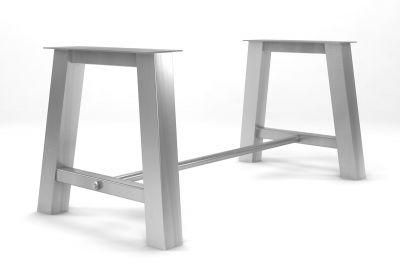 Tischuntergestell Edelstahl auf Maß