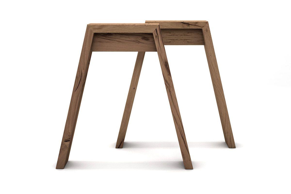 Untergestell aus alter Eiche für deinen Tisch