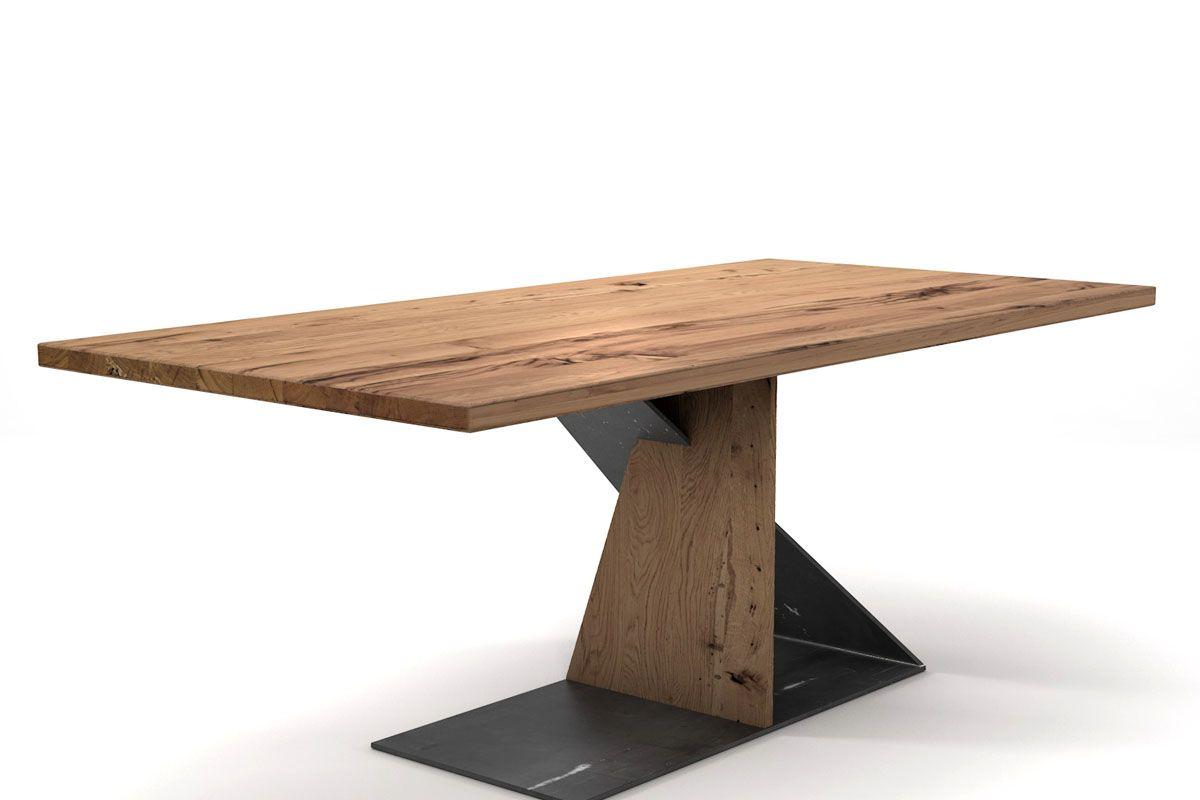 Alte Eiche Tisch nach Maß [HOLZPILOTEN]