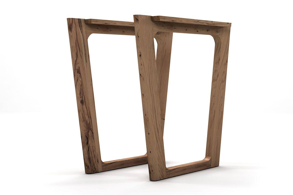 Holztischkufen für dich nach Maß