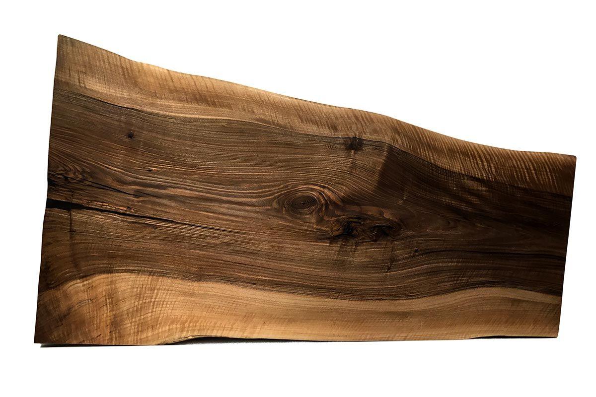 Baumscheibe Nussbaum Unikat 232 Seite 1