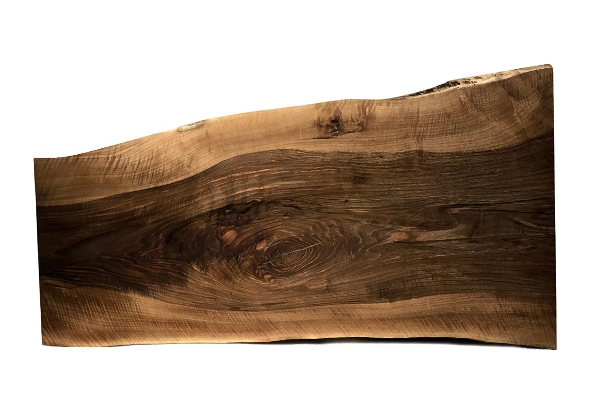 Nussbaum Baumscheibe Unikat 231 - Seite 1