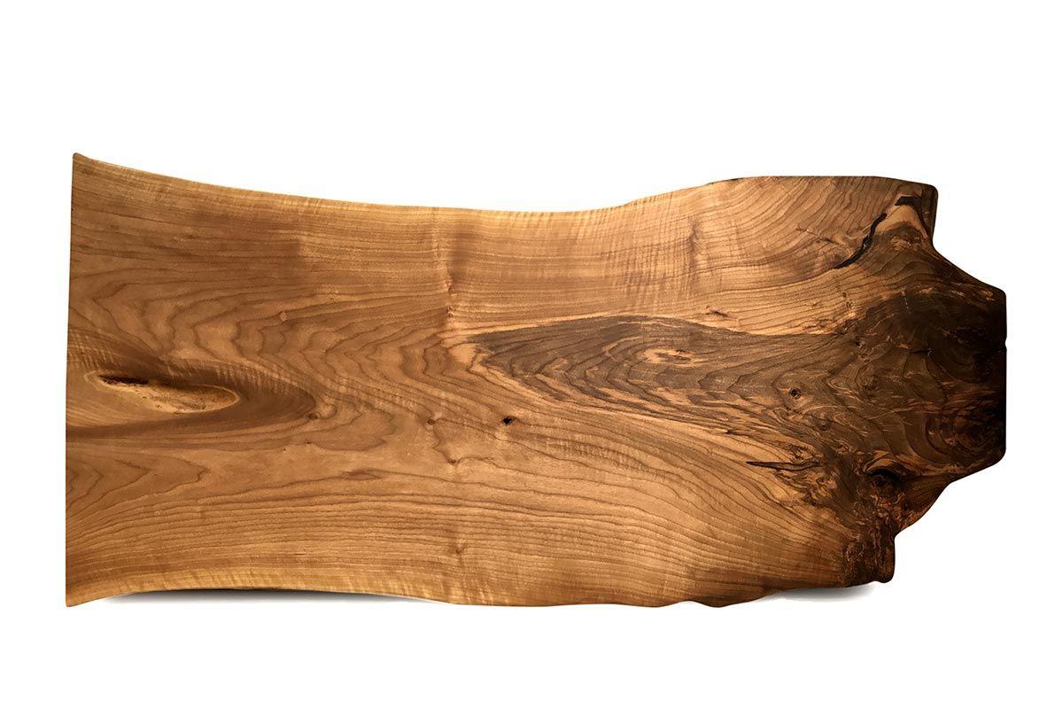 Baumstamm Tischplatte Walnuss massiv Unikat 229 - Seite 1