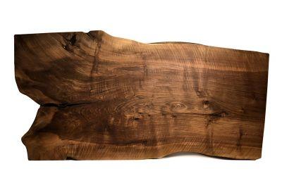 Tischplatte Baumscheibe Nussbaum  Unikat Nr. 217