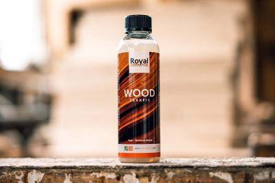 Royal Teakfixx Holzöl für Harthölzer wie Teak, 250ml Flasche