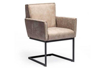 Freischwinger Stuhl klassisch 19B mit verschiedenen Bezügen zur Auswahl