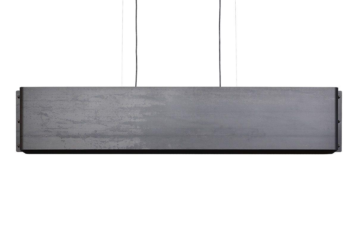 Moderne Hängelampe aus Rohstahl 150cm TAL