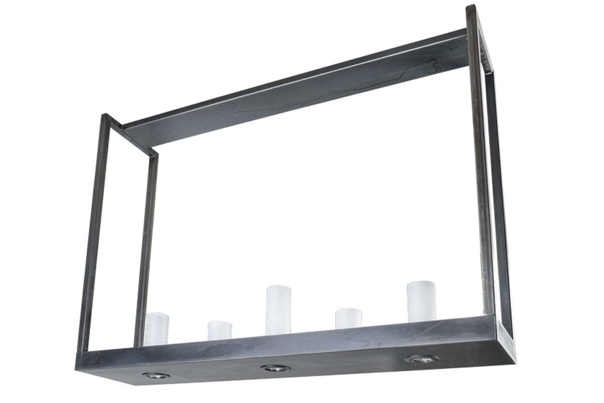 Stylische Deckenlampe in der Höhe verstellbar von 96-130cm