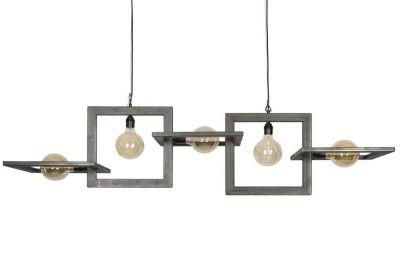 Moderne Fabriklampe aus Stahl LON