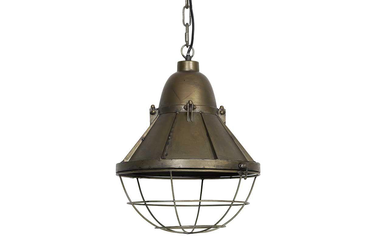 Pendelleuchte Metall klassische Fabriklampe