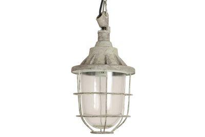 Vintage Fabriklampe Metall