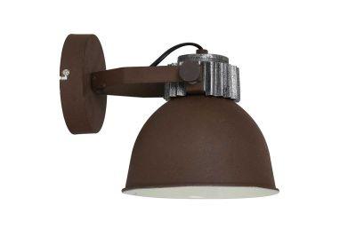 Wandlampe Industrial Design Farbe Rost
