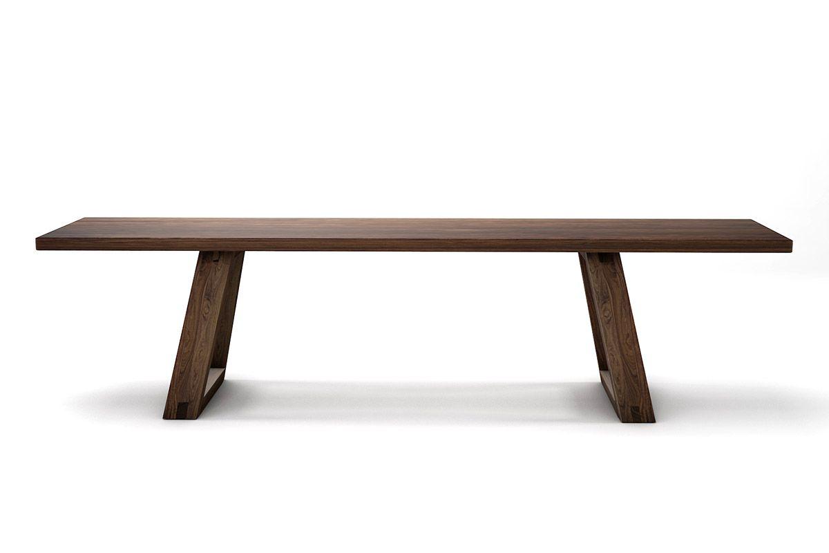 Sitzbank Nussbaum Holz auf Maß