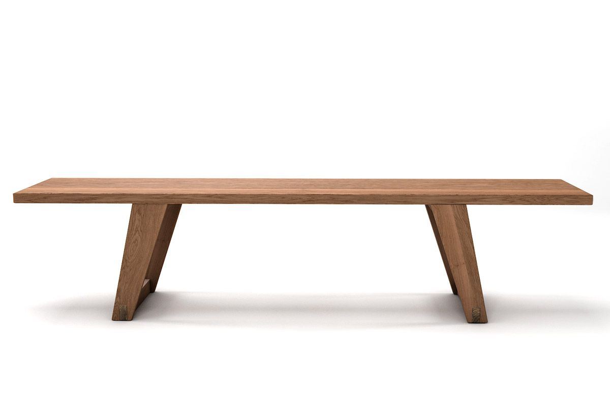 Massivholz Sitzbank Eiche astfrei nach deinem Maß gefertigt, von dir konfiguriert!